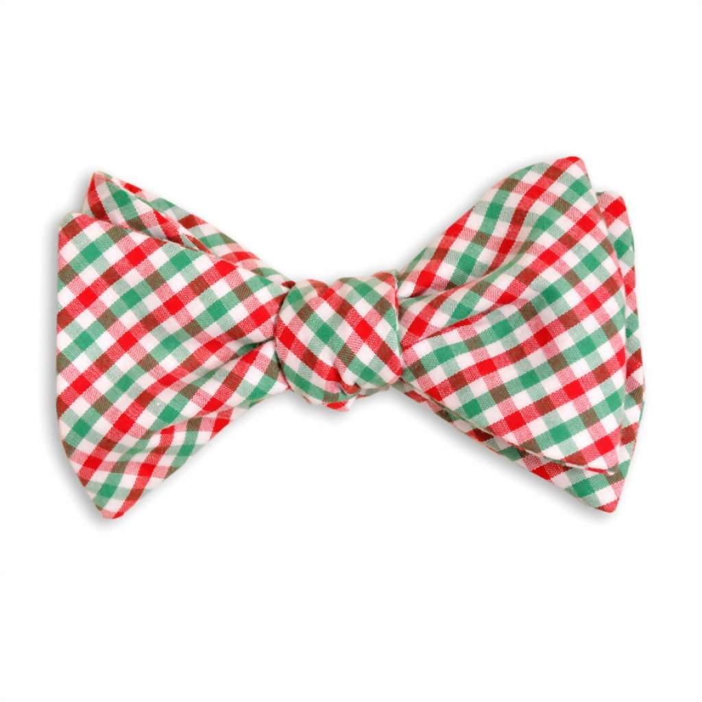 рождественский галстук бабочка