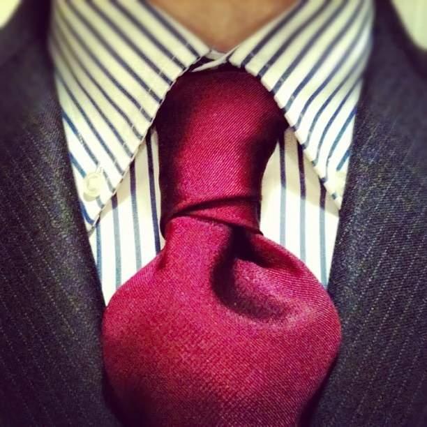 Как завязывать галстук - узел Кристенсен