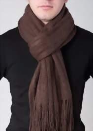 как завязать шарф узел основной