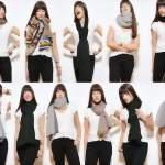 разные узлы для шарфа