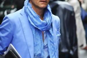 шарф в одну петлю