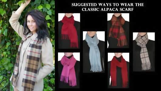 узлы для шарфа