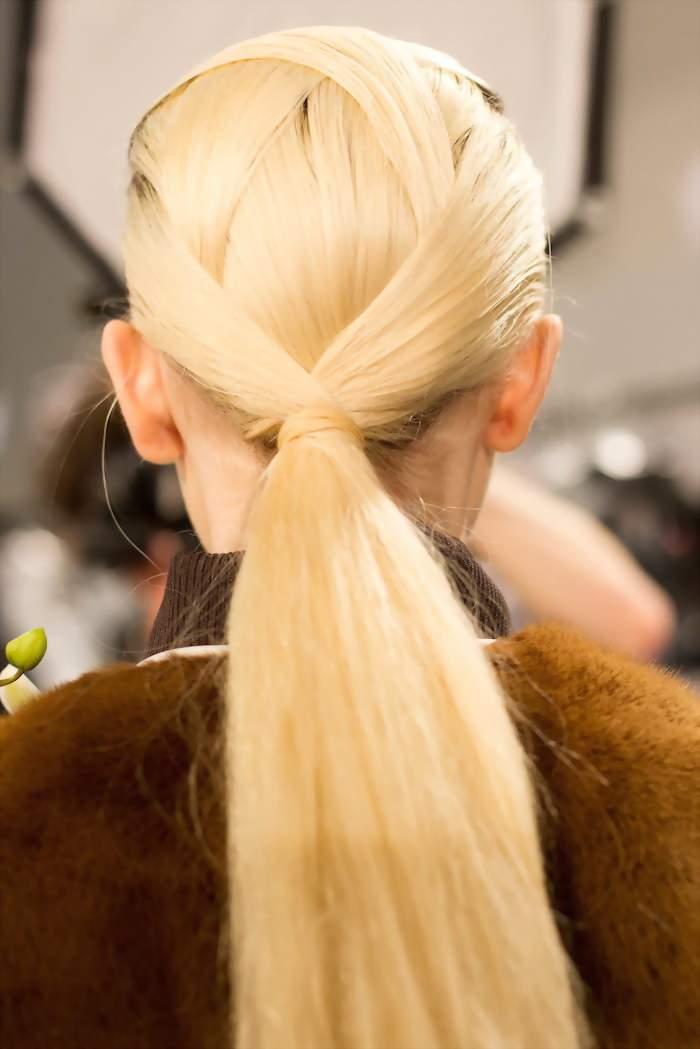 Прически с прямыми волос