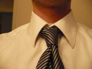 Завязать галстук видео Узел «Кельвин»