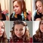 как накрутить волосы гибкими бигудями