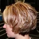 вариант каскада на короткие волосы