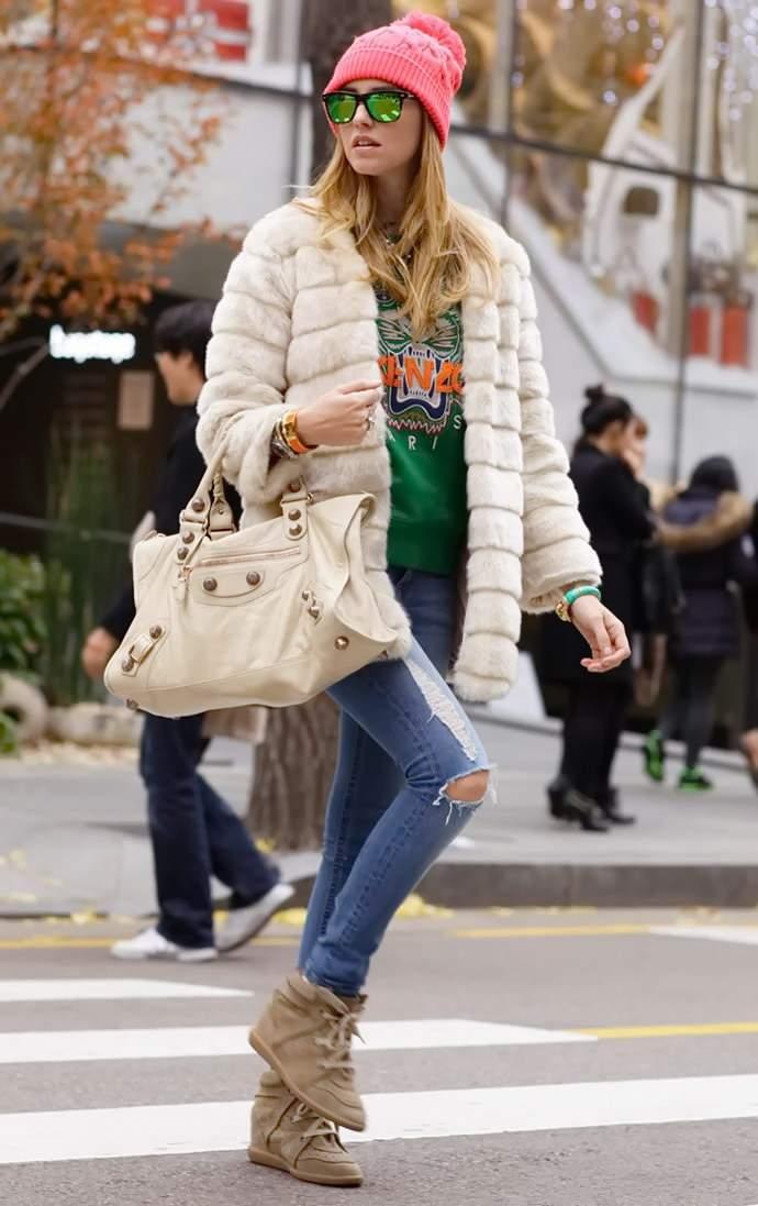 рваные джинсы с чем носить