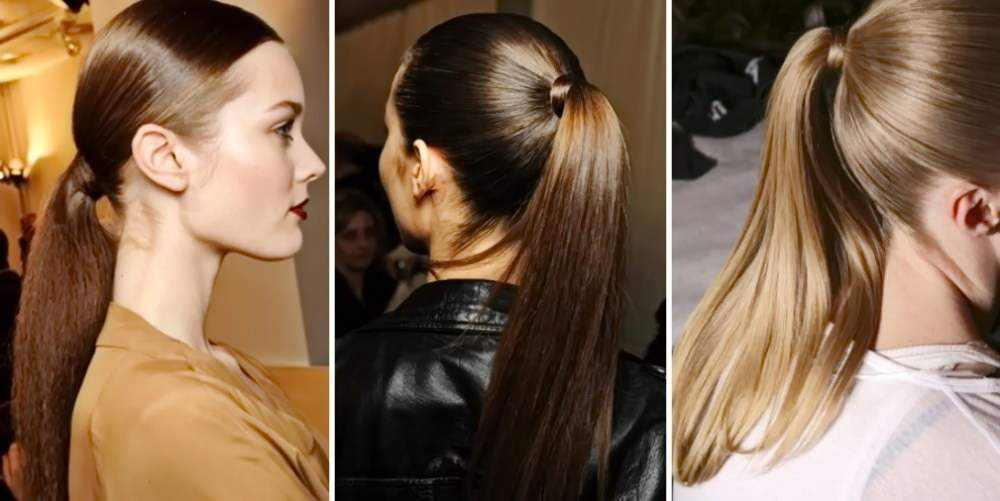 красивые и легкие прически на длинные волосы - хвост