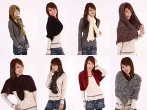 Как завязывать шарф и как носить