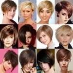 укладки для коротких волос фото