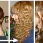 как накрутить волосы без бигудей и плойки