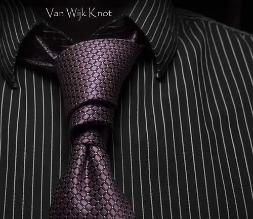 Ван-Вейк - треугольный вариант завязывания