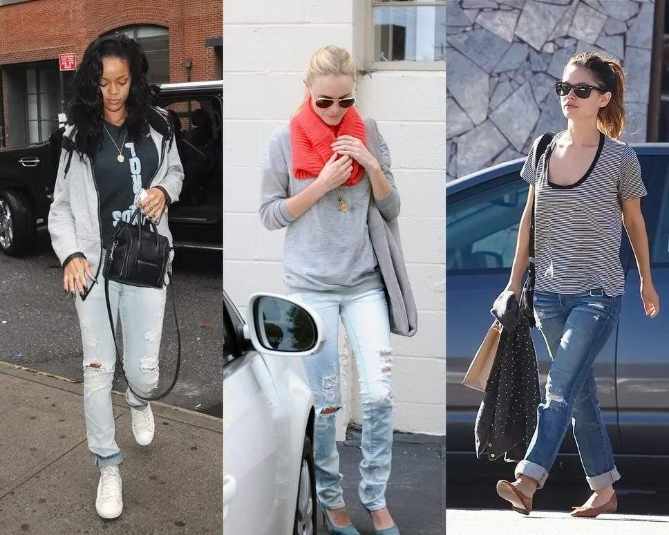 Как правильно носить джинсы - может быть как-то необычно?