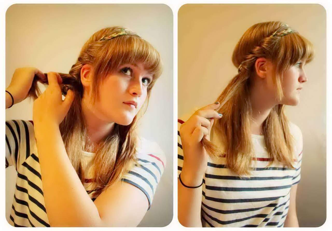 как быстро накрутить волосы без плойки и бигудей