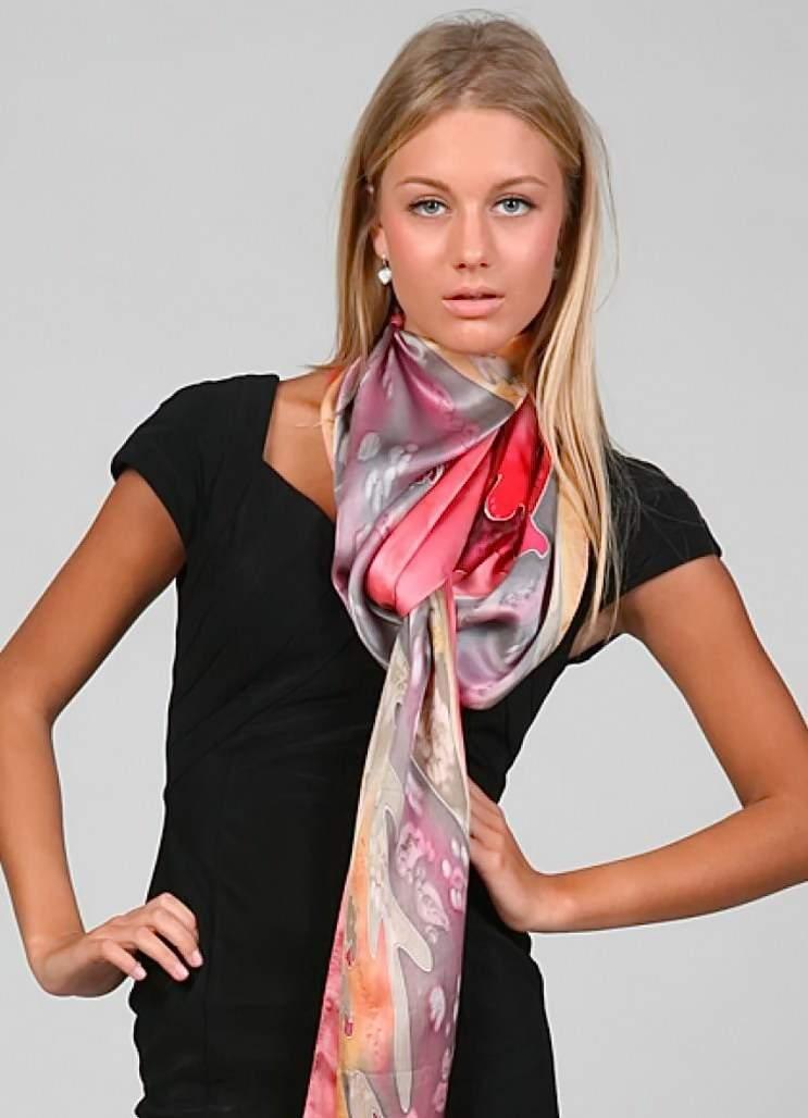 как красиво завязать шейный платок