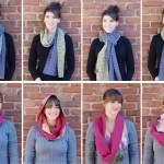 как модно завязать шарф или платок