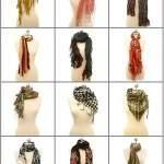 как можно завязать шарф