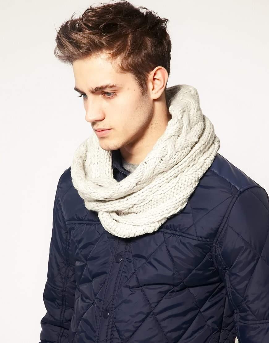как правильно одевать шарф