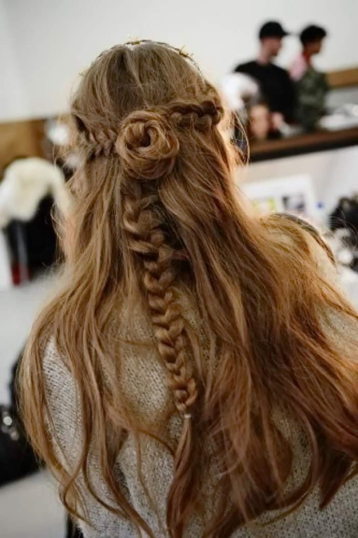 прически на длинных волосах на каждый день - ОРИГИНАЛЬНАЯ КОСА