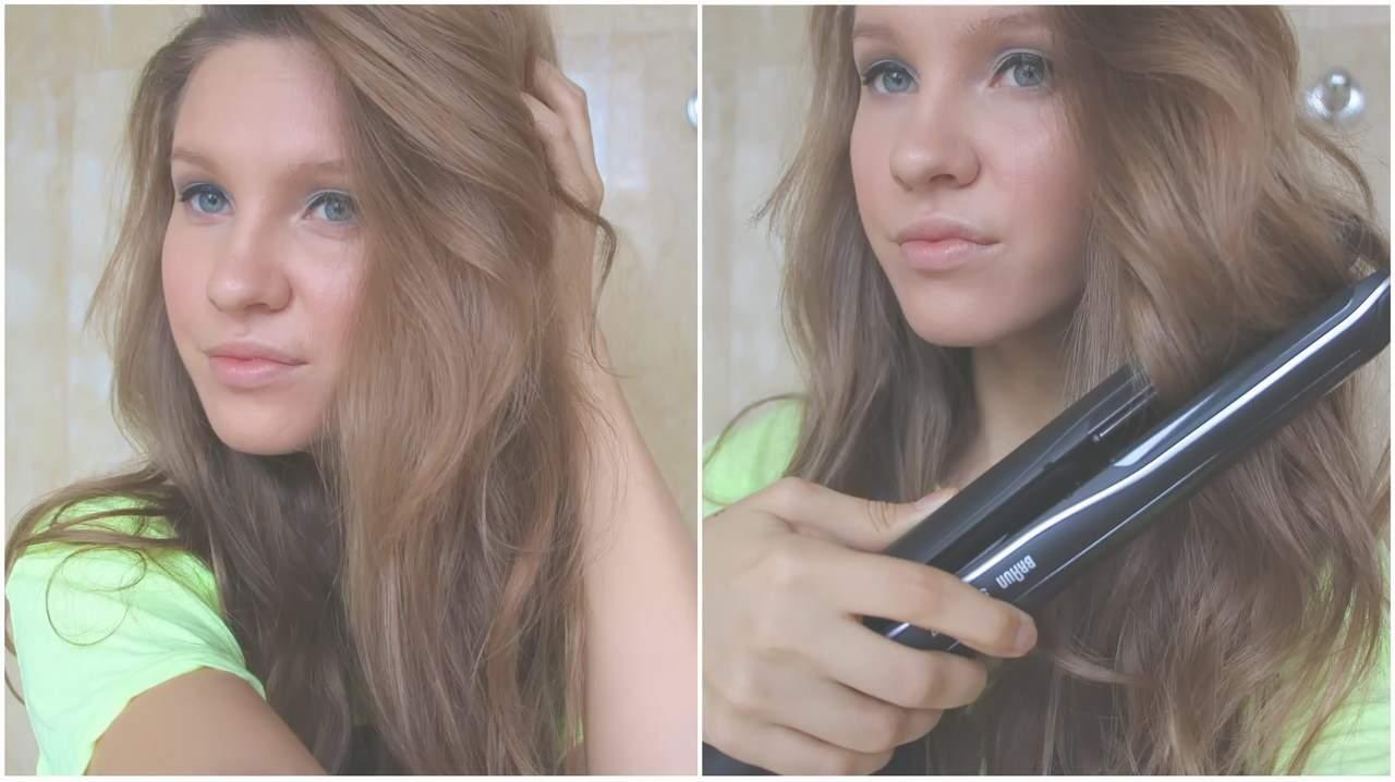 как правильно накрутить волосы плойкой