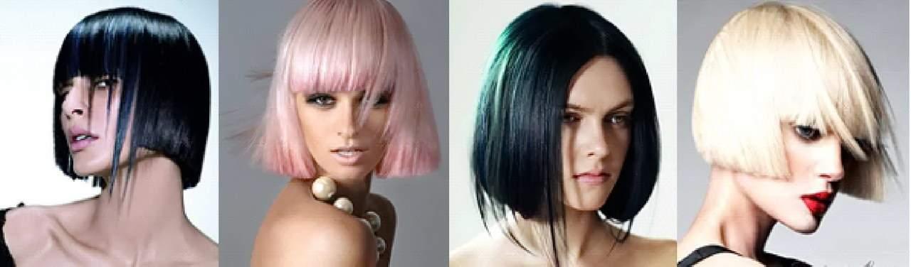 колорирование коротких волос фото