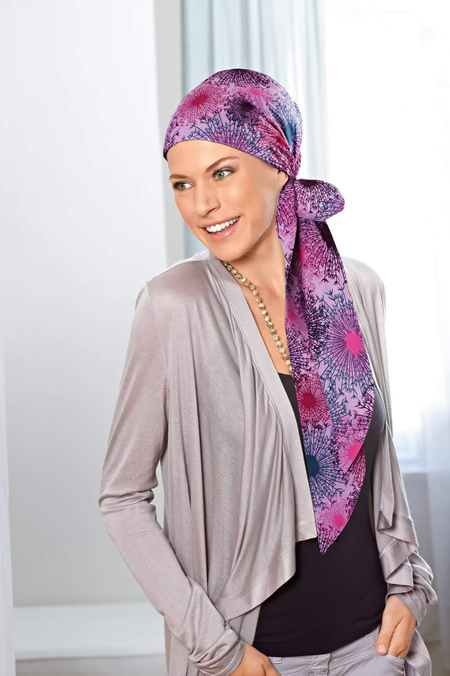 платок на голове