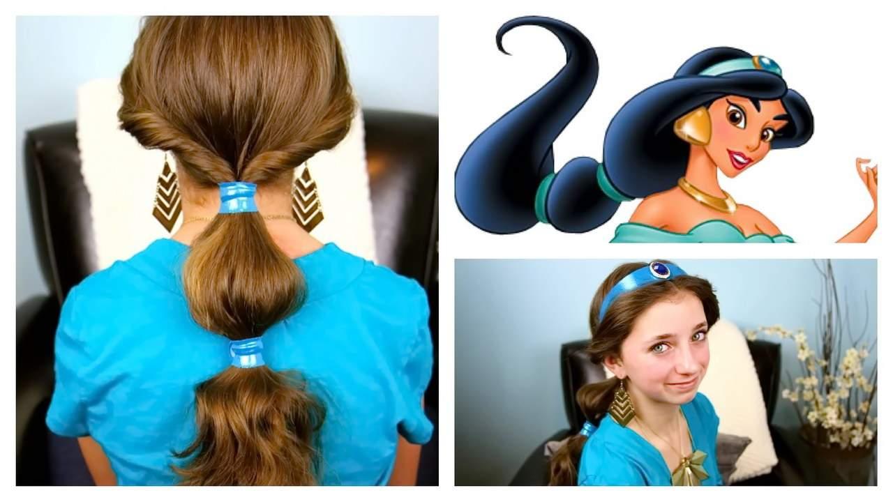 СРАВНИВАЕМ ПРИЧЕСКУ ЖАСМИН - простые прически на каждый день для длинных волос