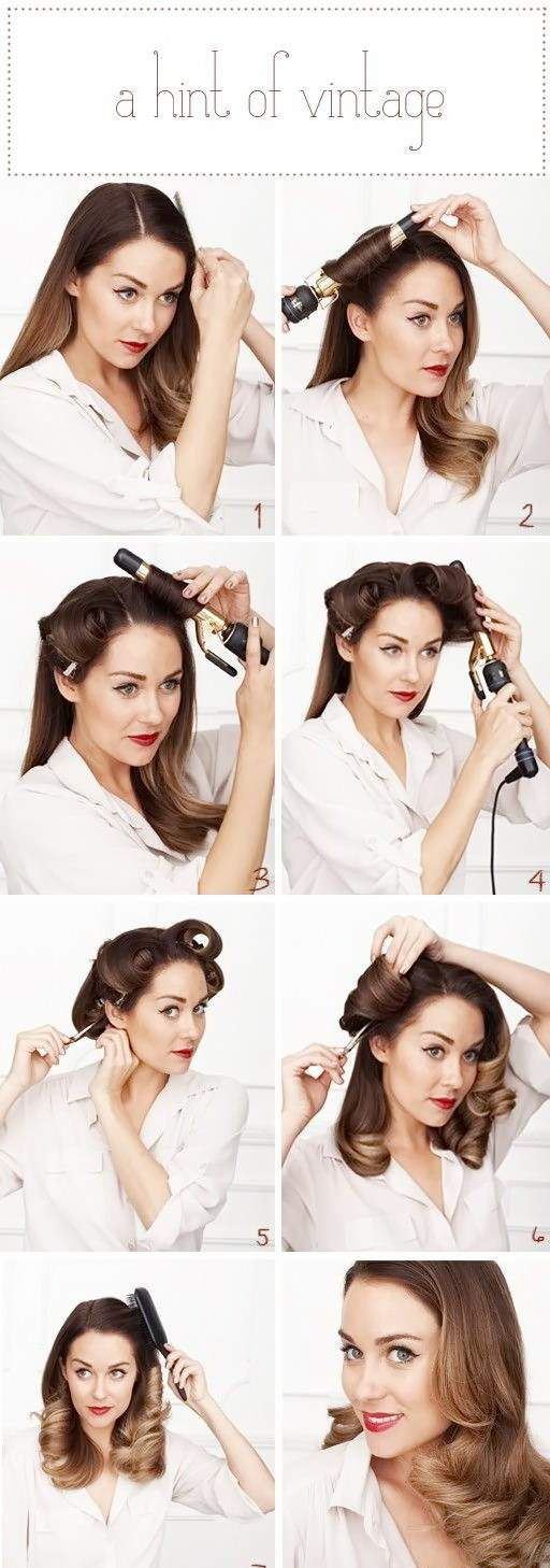 Как делать прически на средние волосы своими руками
