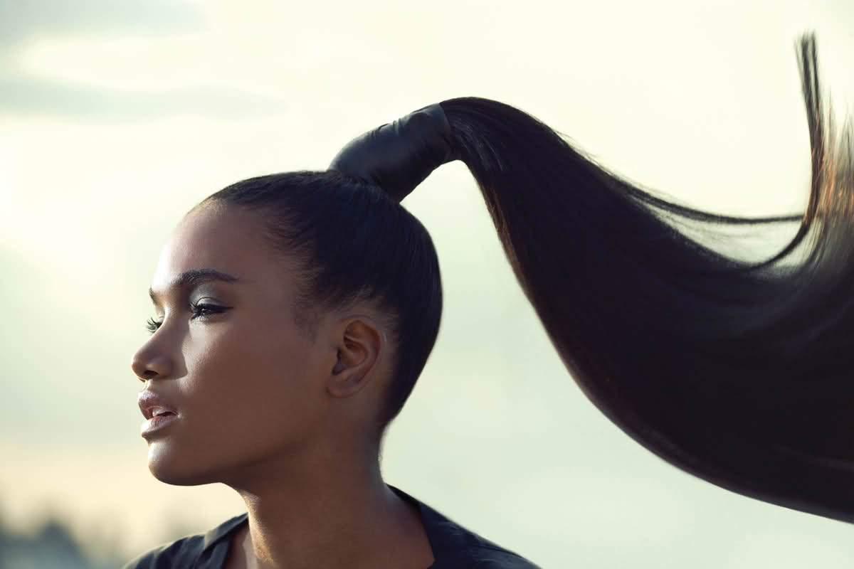 Виды и способы укладок на длинные волосы конский хвост
