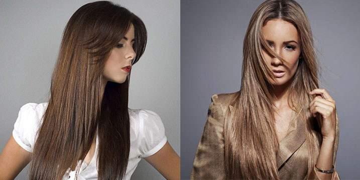 Типы причесок: прически на прямые волосы