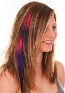 Частичное колорирование русых волос