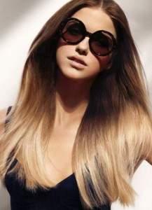балаяж волос