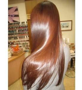 ламинирование волос на русые волосы