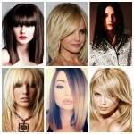 Удлиненные стрижки и средние волосы