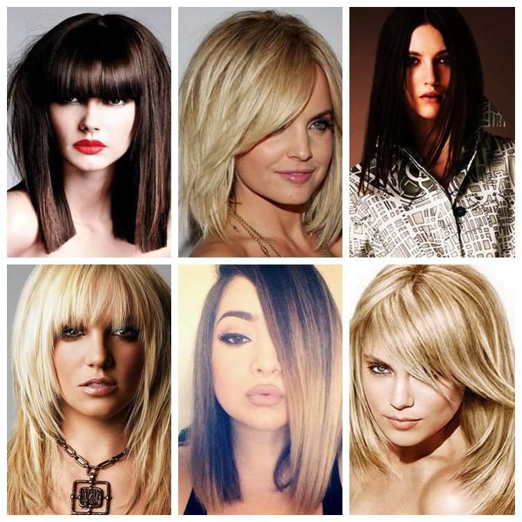 Прически для средних волос и удлиненные стрижки