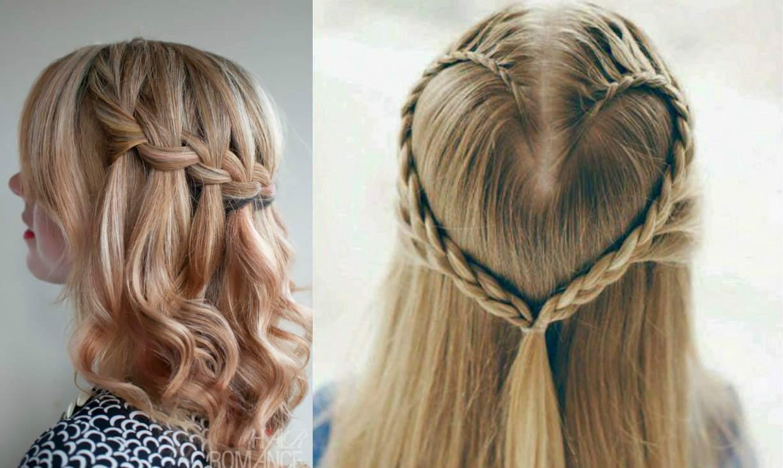Французская коса или прическа