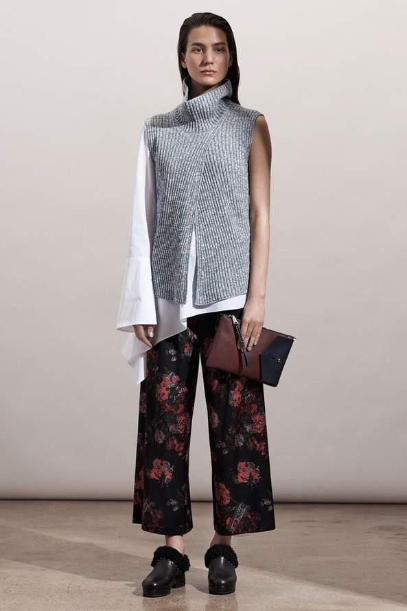 асимметрия в неформальной одежде