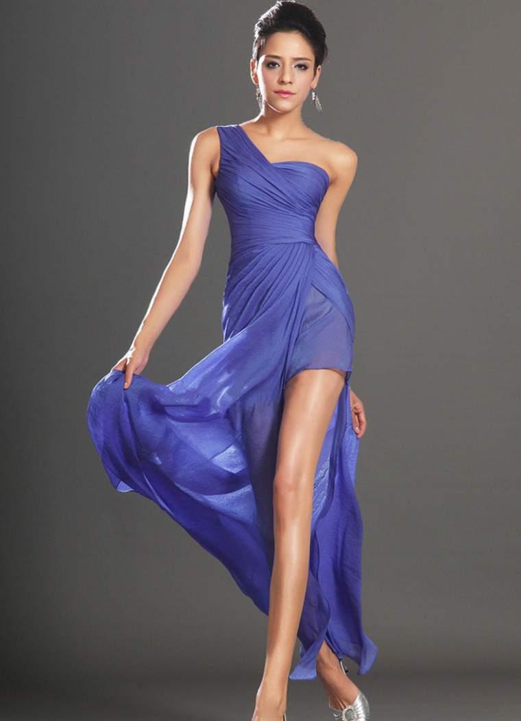 асимметрия в платье