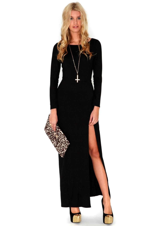Макси платья – звезда любого женского гардероба