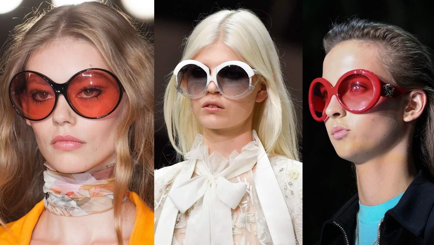 Большие очки против солнца