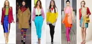 Разнообразие цветов и стилей