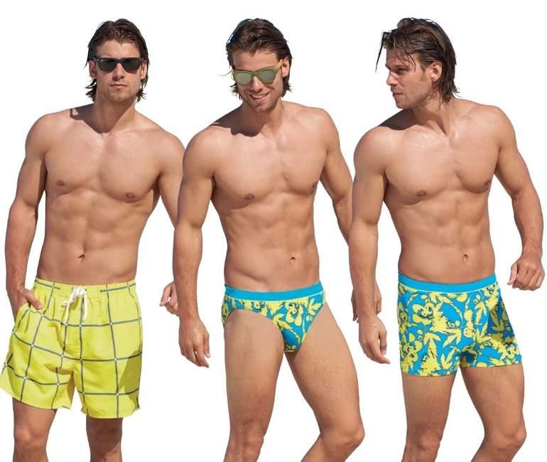 плавательные шорты классические