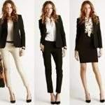 костюм в гардеробе деловой женщины