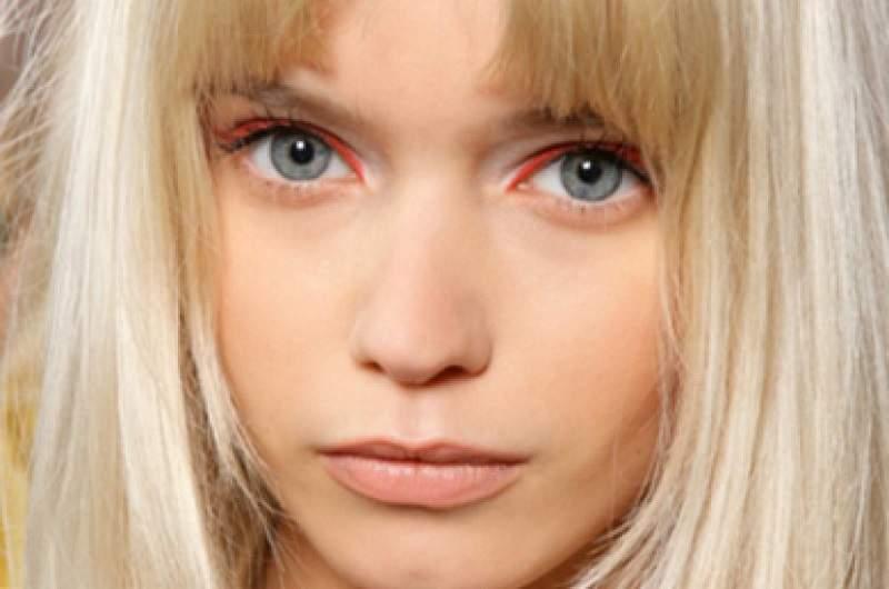 оранжевая основа под макияж