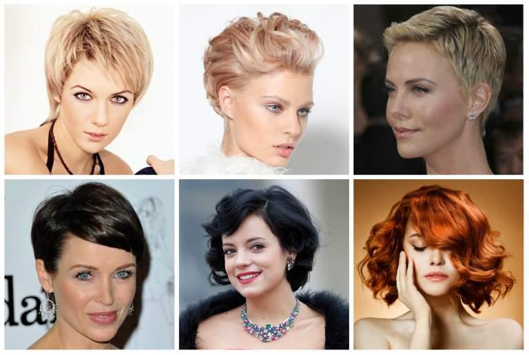 Сделать красивую укладку коротких волос