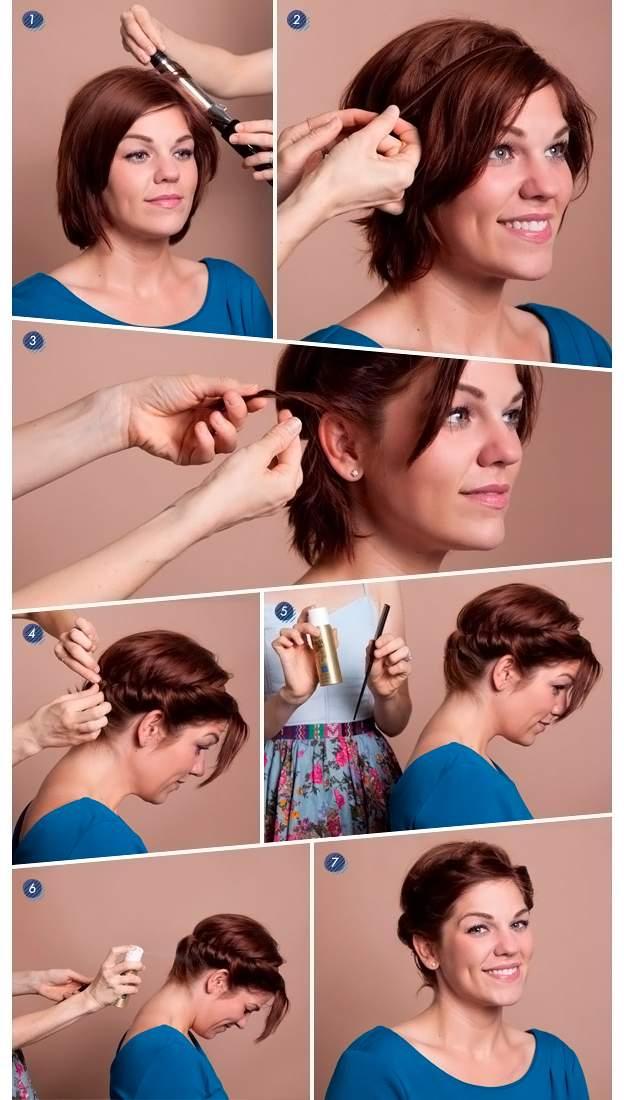 Стрижки на короткие волосы в домашних условиях своими руками