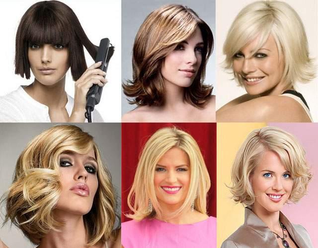 Фото способов укладки волос утюжком
