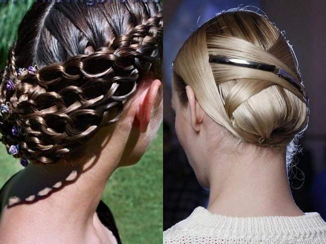 прически на длинные волосы на выпускной