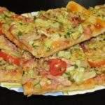 Пицца домашняя. Простой рецепт (на 12 порций)